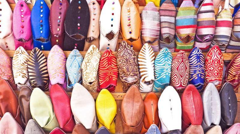 Babouches Souvenir Marokko