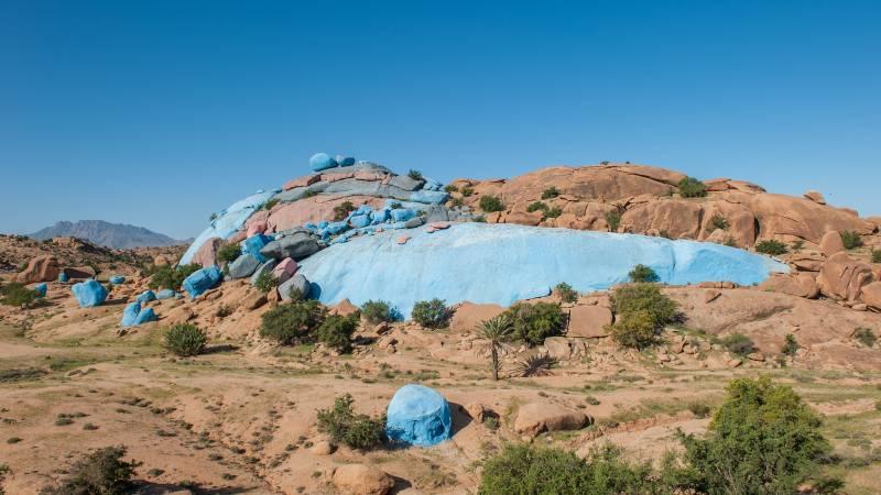 Blaue Felsen Tafraoute