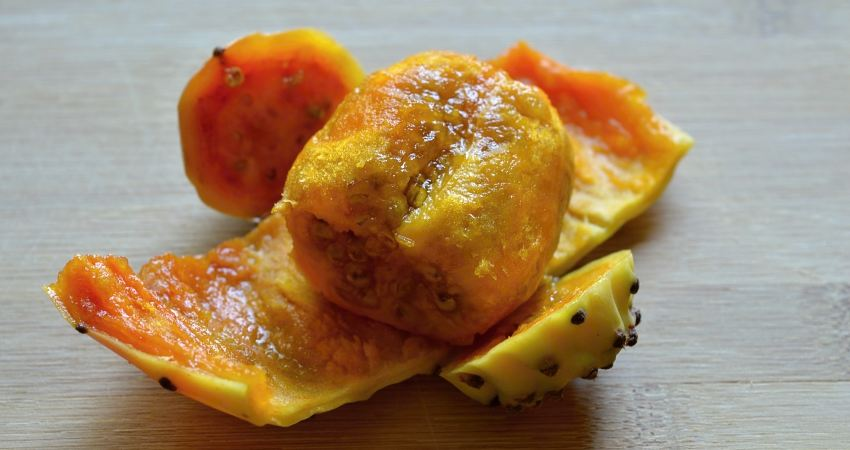 Fruchtfleisch der Kaktusfrucht