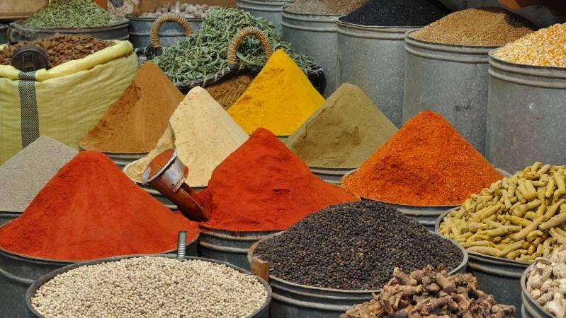 Gewürze aus Marokko mitbringen