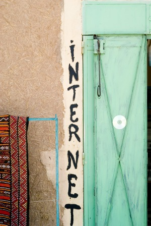 Internetcafe Marokko