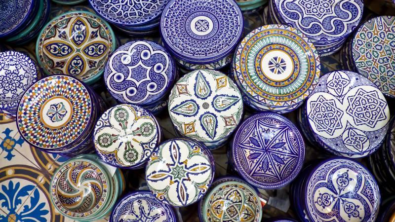 Keramik Marokko