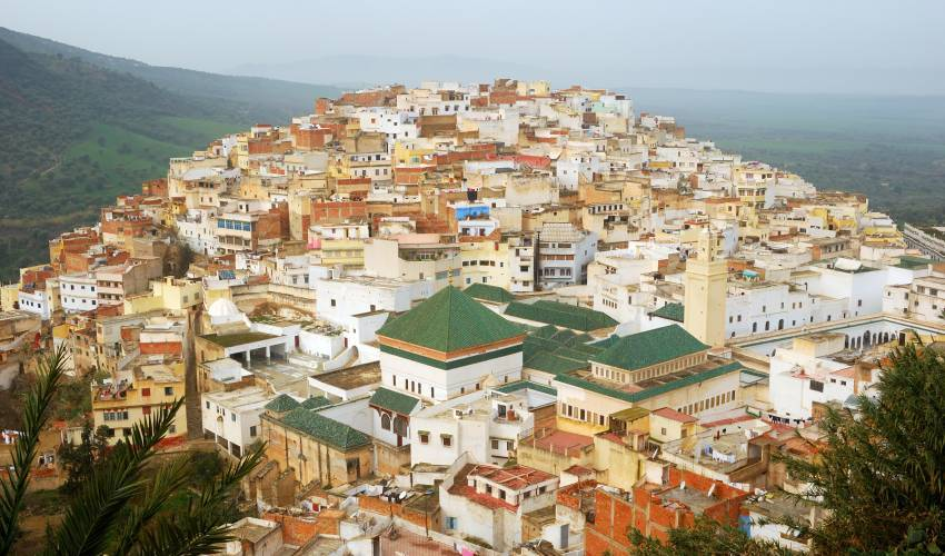 Moulay Idris in Marokko