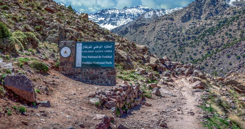 Nationalpark Toubkal Marokko