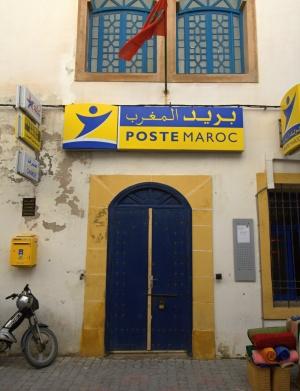 Post in Essaouira, Marokko