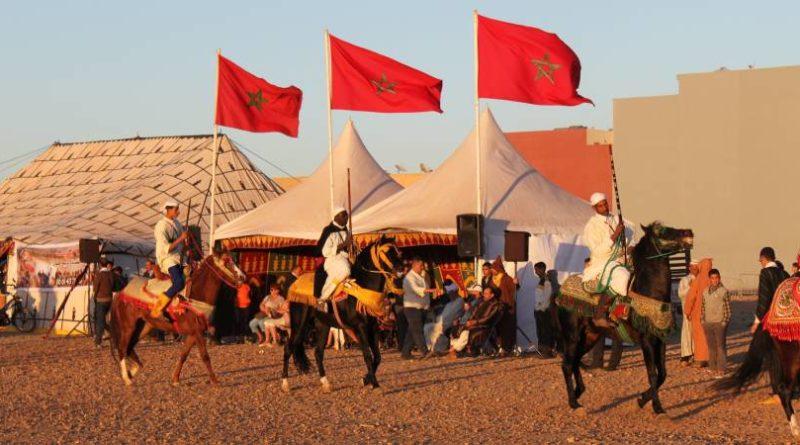 Feiertage Reiterspiele Marokko