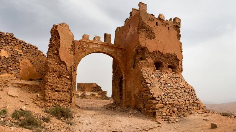 Spanische Festung Mirleft